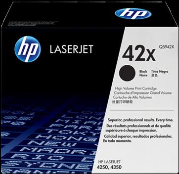 Картридж HP Q5942X черный оригинальный