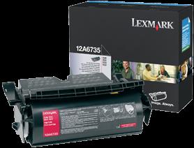 Картридж Lexmark 12A6735 черный оригинал