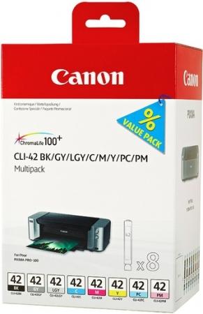 Картридж CLI-42 для Canon мультипак 8 цветов