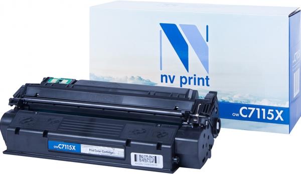 Картридж совместимый NVPrint C7115X для HP