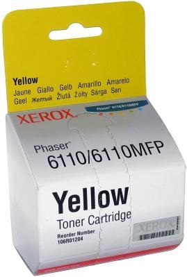 Картридж совместимый UNITON Premium 106R01204/106R01273 желтый для Xerox
