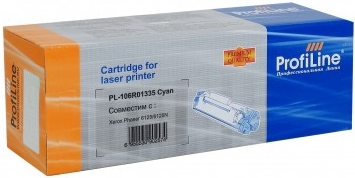 Картридж совместимый ProfiLine 106R01335 голубой для Xerox