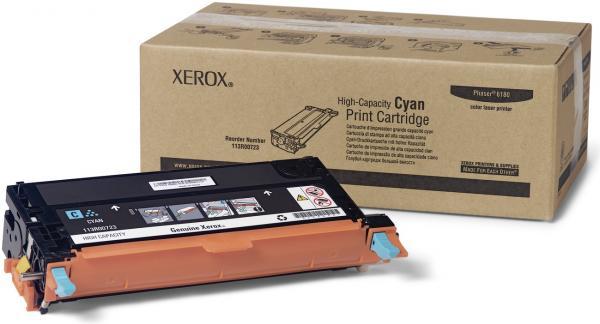 Картридж XEROX 113R00723 голубой оригинальный