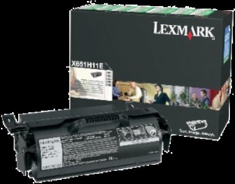 Картридж Lexmark X651H11E оригинальный