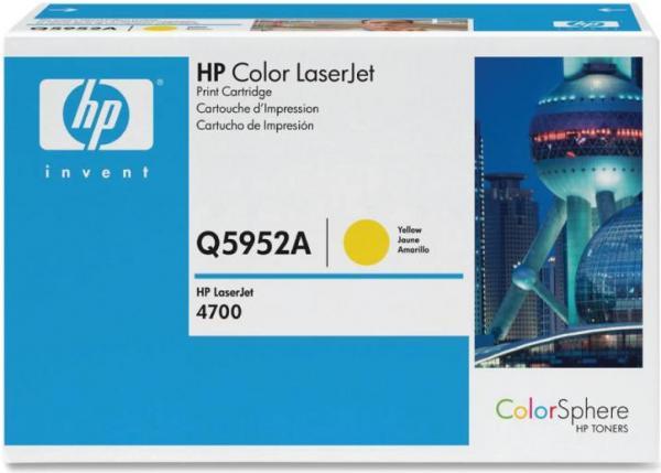 Картридж HP Q5952A желтый оригинальный