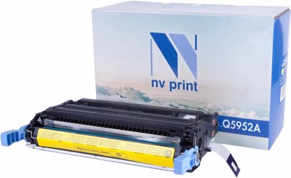 Картридж совместимый NVP Q5952A желтый для HP