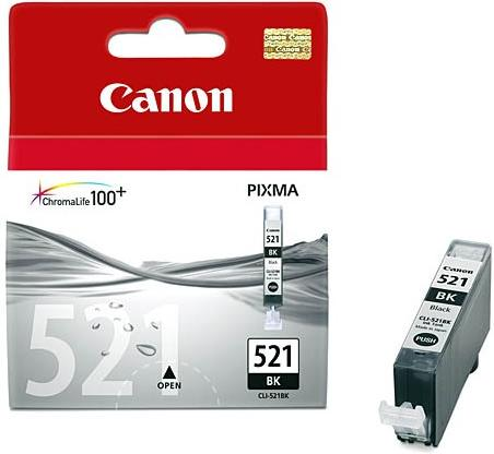 Картридж Canon Ink CLI-521 BK черный оригинальный