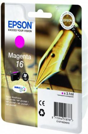 Картридж EPSON C13T16234010 пурпурный оригинальный