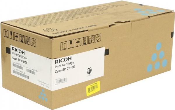 Принт-картридж SPC310E для Ricoh LE голубой