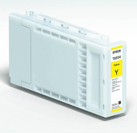 Картридж Epson C13T693400 желтый повышенной емкости оригинальный