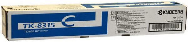 Картридж Kyocera TK-8315С голубой оригинальный