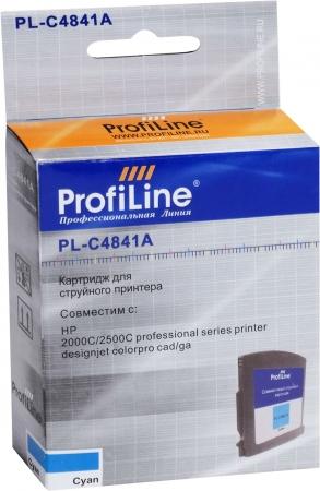 Картридж совместимый ProfiLine C4841A №10 для HP голубой