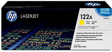 Картридж HP Q3962A желтый оригинальный