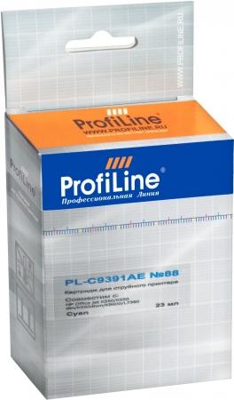 Картридж совместимый ProfiLine C9391AE №88 для HP голубой