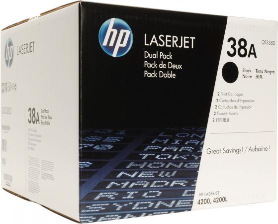 Картридж HP Q1338D черный двойная упаковка оригинальный