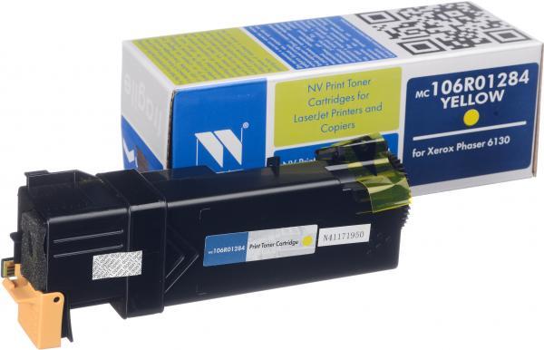 Картридж совместимый NV Print 106R01284 желтый для Xerox