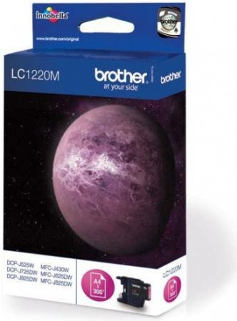 Картридж BROTHER LC1220M пурпурный оригинальный