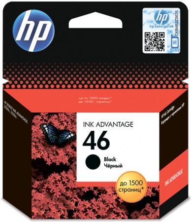 Картридж HP CZ637AE черный оригинальный