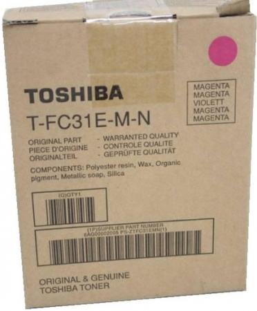 Картридж Toshiba T-FC31EM (6AG00002001) красный оригинальный