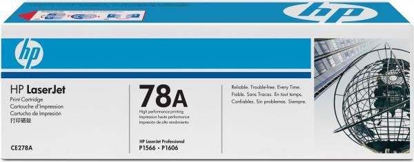 Картридж HP CE278A оригинальный