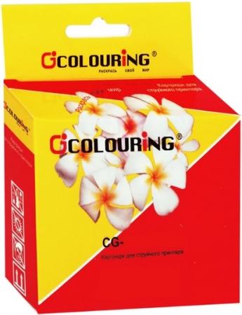 Картридж совместимый Colouring LC1100/LC980Y для Brother желтый