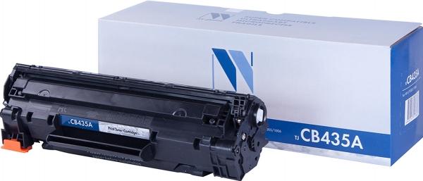 Картридж совместимый NVP CB435A / 712 черный для HP / Canon
