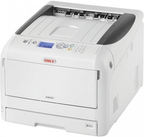 Принтер лазерный OKI C833n-EURO