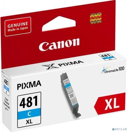 Картридж CANON CLI-481XLC голубой оригинальный