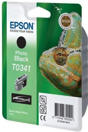 Картридж EPSON T034140 черный фото оригинальный