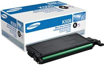 Картридж Samsung CLT-K508L черный оригинальный