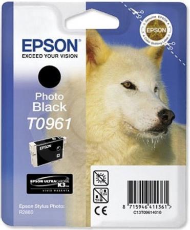 Картридж EPSON T09614010 фото-черный оригинальный