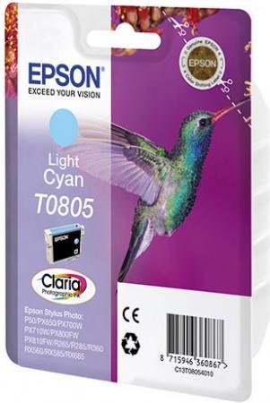 Картридж EPSON T08054010 светло-голубой оригинальный