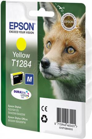 Картридж EPSON T12844011 желтый совместимый