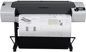 Плоттер HP Designjet T790 44-in PostScript ePrinter