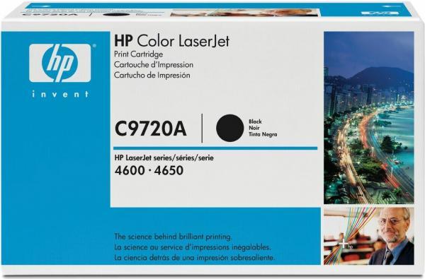 Картридж HP C9720A черный оригинал