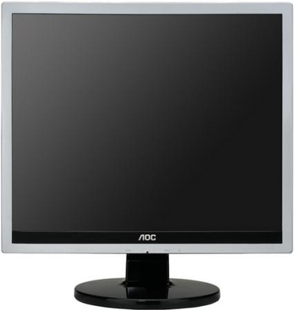 """Монитор 17"""" AOC E719SD Silver-Black"""