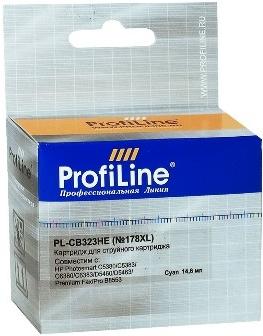 Картридж совместимый ProfiLine CB323HE №178XL для HP голубой