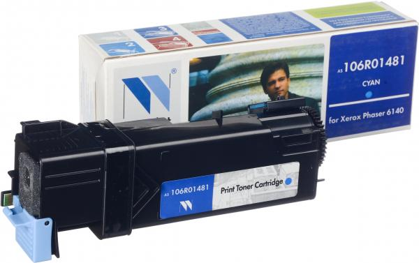 Картридж Xerox 106R01481 голубой совместимый NV Print