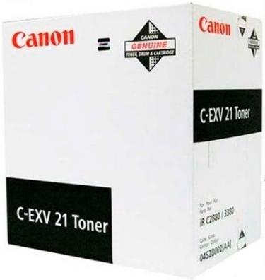 Тонер-картридж Canon C-EXV 21 черный оригинальный