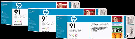Картридж HP C9482A светло-серый тройная упаковка оригинал