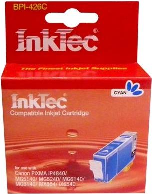 Картридж совместимый InkTec 426 С голубой для CANON