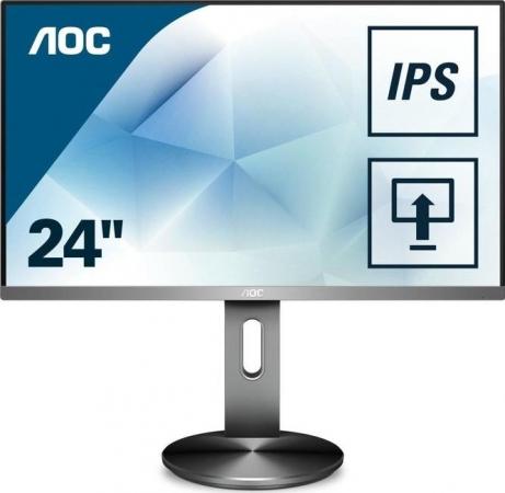 """Монитор 23.8"""" AOC I2490PXQU Silver/Black"""