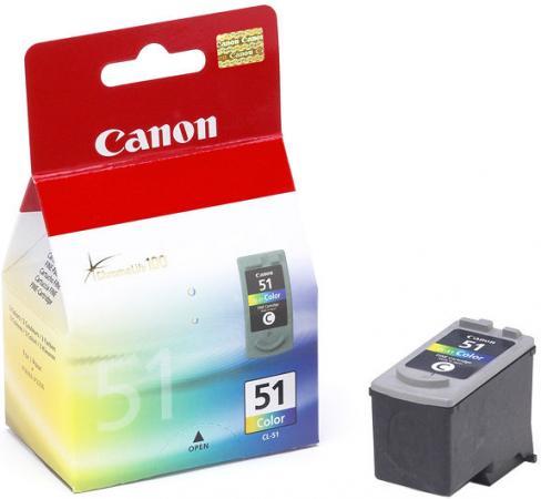 Картридж CANON CL-51 трехцветный оригинальный