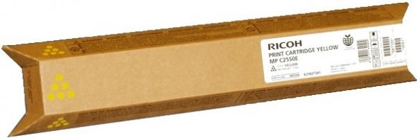 Тонер-картридж MPC2550E для Ricoh желтый