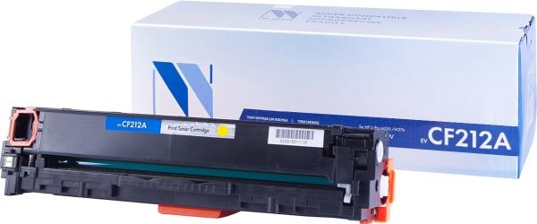 Картридж совместимый NVPrint CF212A для HP желтый