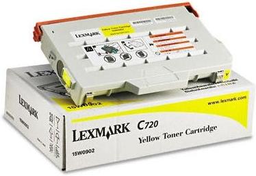 Картридж Lexmark 15W0902 желтый оригинальный