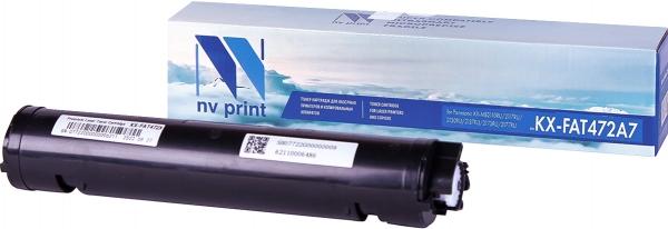 Картридж совместимый NVP KX-FAT472A7 для Panasonic