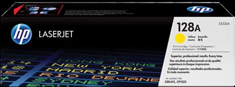 Картридж HP CE322A желтый совместимый UNITON Eco