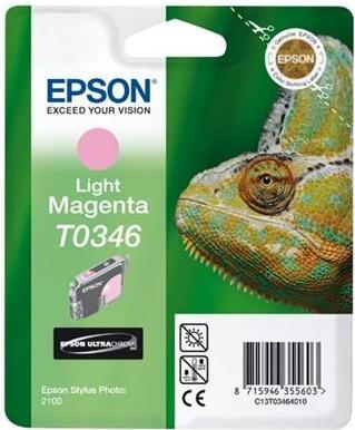 Картридж EPSON T034640 светло-пурпурный оригинальный