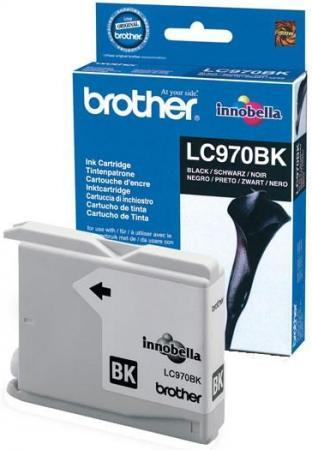 Картридж Brother LC970BK черный оригинальный